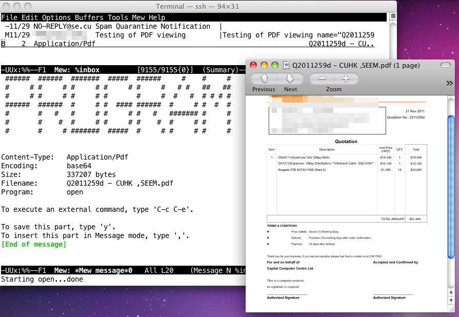 Emacs Mew (Snow Leopard) – TabooCat's Blog